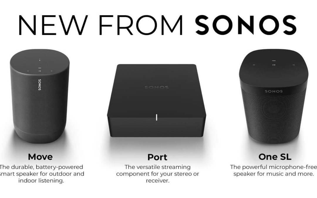 New products from SONOS